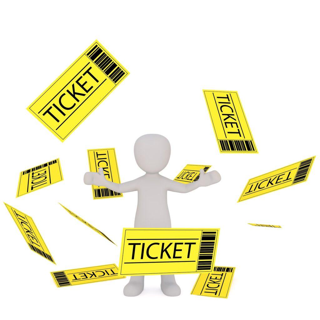 Fahrkarten, Tageskarte, Wochenkarte